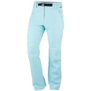 Northfinder IVANNA modrá XL - Dámské kalhoty softshellové