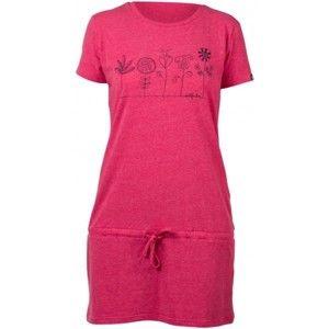 Northfinder KIRA růžová S - Šaty dámské