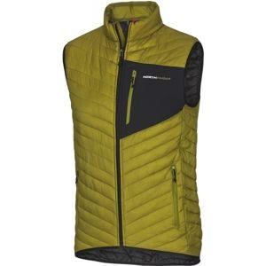 Northfinder MIHKEL zelená M - Pánská vesta