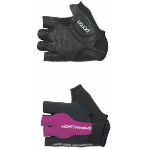 Northwave FLAG SHORT W GLOVES černá S - Cyklistické rukavice