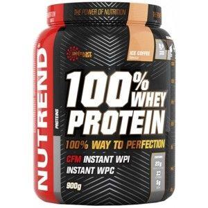Nutrend 100% WHEY PROTEIN 900G LEDOVÁ KÁVA - Proteinový nápoj