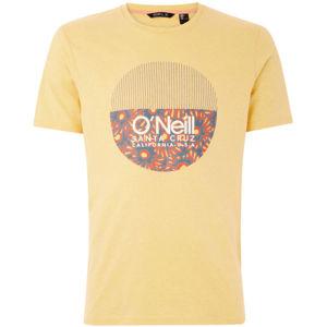 O'Neill LM BEDWELL T-SHIRT žlutá XXL - Pánské tričko