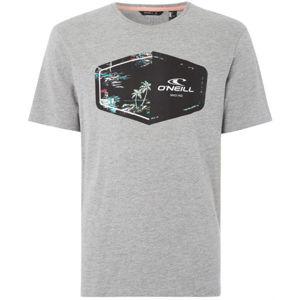 O'Neill LM MARCO T-SHIRT šedá XL - Pánské tričko