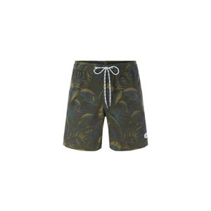 O'Neill LM KAMAKOU WALK SHORTS tmavě zelená XL - Pánské šortky