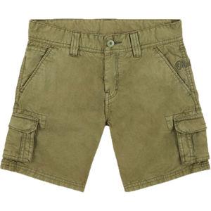 O'Neill LB CALI BEACH CARGO SHORTS tmavě zelená 152 - Chlapecké šortky