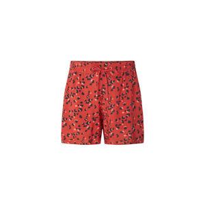 O'Neill LW MONTARA DRAPEY SHORTS červená L - Dámské šortky
