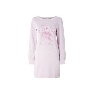 O'Neill LW SWEAT DRESS světle růžová M - Dámské šaty