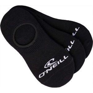 O'Neill FOOTIE ONEILL WHITE 3P černá 43 - 46 - Unisex ponožky