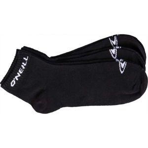 O'Neill QUARTER ONEILL 3P černá 39 - 42 - Unisex ponožky