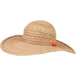 O'Neill BW FLAT BRIM FEDORA hnědá 0 - Dámský klobouk
