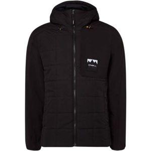 O'Neill PM MANEUVER QUILT-MIX JACKET černá L - Pánská zimní bunda