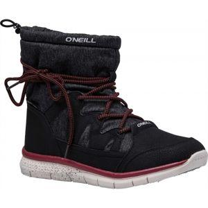 O'Neill BELLA LT SNOWJOGGER černá 36 - Dámské zimní boty