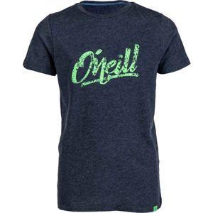 O'Neill LB POWDERDAYS S/SLV T-SHIRT tmavě modrá 176 - Chlapecké triko