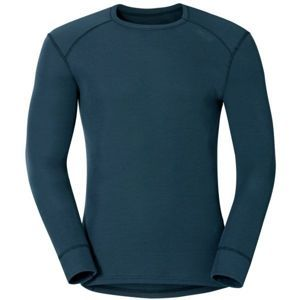 Odlo SUW MEN'S TOP L/S CREW NECK ACTIVE WARM šedá XL - Pánské funkční tričko