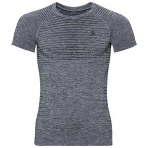 Odlo BL TOP CREW NECK S/S PERFORMANCE LIGHT šedá S - Pánské funkční tričko