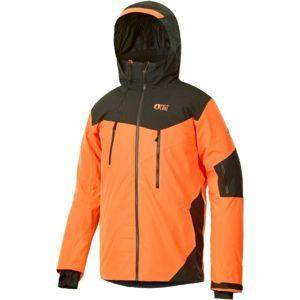 Picture DUNCAN oranžová M - Pánská lyžařská bunda