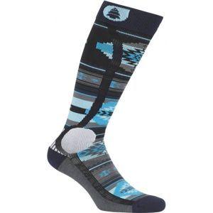 Picture WOOLING modrá 44/45 - Lyžařské ponožky