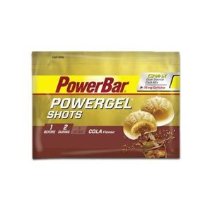 Powerbar GEL SHOTS COLA+KOFEIN 60G  NS - Energetický gel