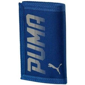 Puma PIONEER WALLET modrá UNI - Unisex peněženka