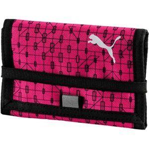Puma BETA WALLET růžová UNI - Peněženka