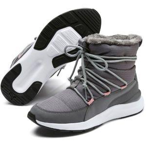Puma ADELA WINTER BOOT bílá 4.5 - Dámská zimní obuv