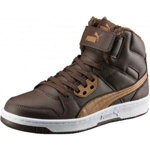 Puma REBOUND STREET FUR - Pánské kotníkové boty