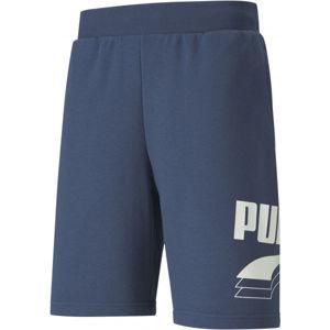 Puma REBEL BOLT SHORTS 9 modrá L - Pánské šortky