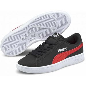 Puma SMASH V2 BUCK JR  3 - Chlapecké volnočasové boty
