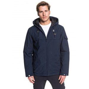 Quiksilver SHORELINE STORM tmavě modrá S - Pánská zimní bunda