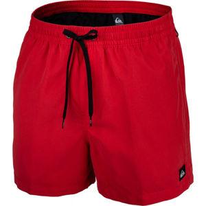 Quiksilver EVERYDAY VOLLEY 15 červená L - Pánské koupací šortky