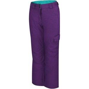 Reaper RITA fialová L - Dámské snowboardové kalhoty