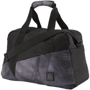 Reebok W FOUND GRIP GRAPHIC černá  - Sportovní taška