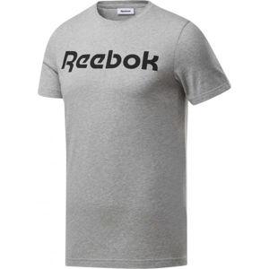 Reebok GRAPHIC SERIES REEBOK LINEAR READ TEE  S - Pánské triko