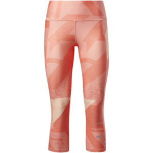 Reebok RE 3/4 TIGHT - AOP / TWICOR  XL - Dámské 3/4 legíny