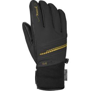 Reusch TOMKE STORMBLOXX černá 7 - Lyžařské rukavice