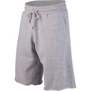 Russell Athletic CLASSIC RAW EDGE ENHANCED PRINTED  SEAMLESS SHORTS šedá XL - Pánské šortky