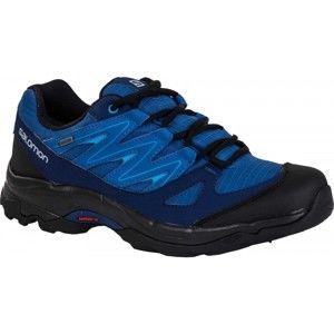 Salomon CILAOS GTX modrá 11.5 - Pánská treková obuv