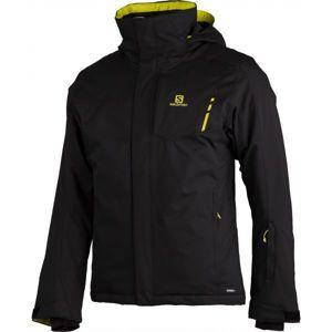 Salomon STORMPUNCH JKT M černá XL - Pánská zimní bunda