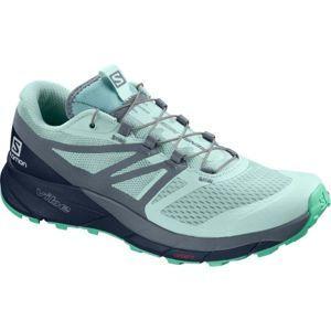 Salomon SENSE RIDE 2 W zelená 4.5 - Dámská trailová obuv