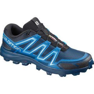 Salomon SPEEDTRAK modrá 10 - Pánská běžecká obuv