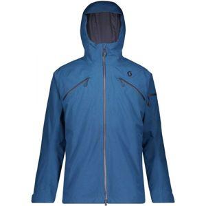Scott ULTIMATE GTX 3 IN 1 JACKET tmavě modrá S - Pánská lyžařská bunda