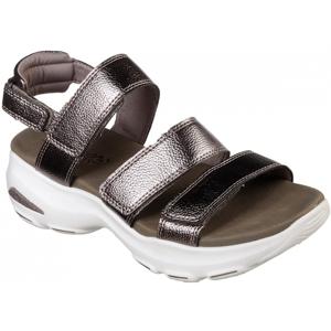 Skechers D'LITES ULTRA hnědá 39 - Dámské sandály