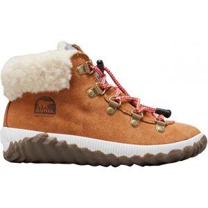 Sorel YOUTH OUT N ABOUT CONQUE hnědá 6 - Dětská zimní obuv