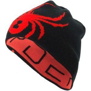 Spyder REVERSIBLE INNSBRUCK HAT červená UNI - Pánská čepice