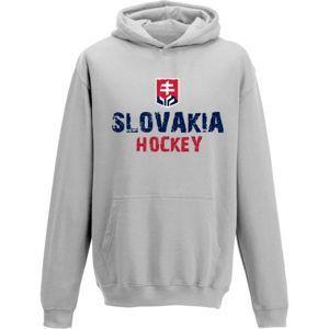 Střída KLOKANKA NAPIS SLOVAKIA HOCKEY - Dětská mikina
