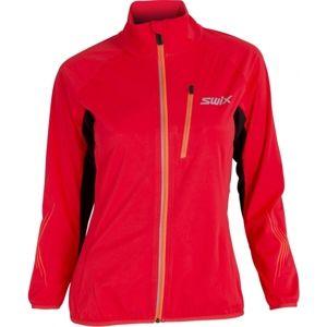 Swix DYNAMIC červená XS - Lehká dámská softshellová bunda