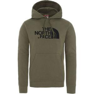 The North Face DREW PEAK PO HD tmavě zelená M - Pánská lehká mikina
