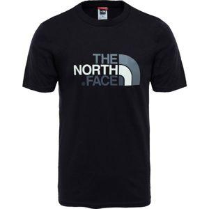 The North Face S/S EASY TEE M černá XXL - Pánské tričko