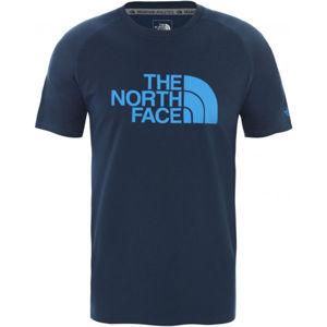 The North Face WICKE GRAPHI CR-EU tmavě modrá XL - Pánské triko