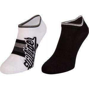 Tommy Hilfiger MEN HILFIGER SNEAKER 2P černá 43 - 46 - Pánské ponožky